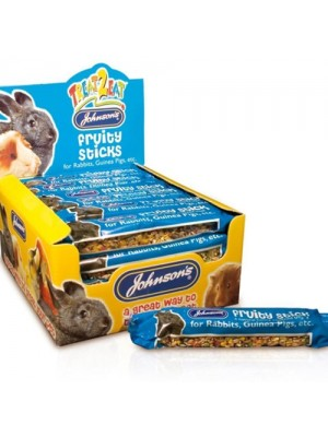Johnsons Rabbit/Guinea Pig Apple Seed Honey Treat Fuity Sticks