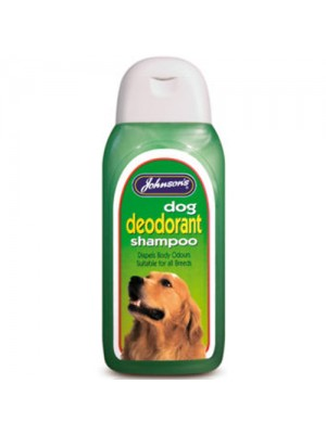 Johnsons Dog Deoderant For All Breeds Lustre/Beautifies Coat