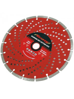 9 Inch 230mm Diamond Cutting Disc Masonry Stone Hard Brick Tiles