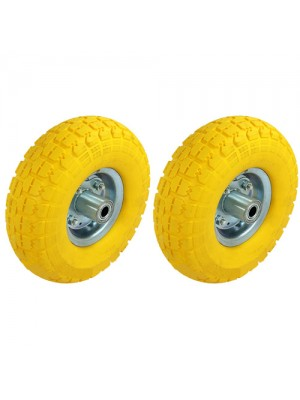 2 x Solid Sack Truck Tyres Replacement Wheel Trolley Cart Tire