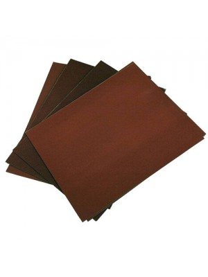 12 Pack of Wet and Dry Emery Sheet Sandpaper