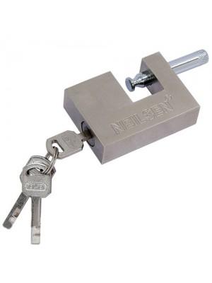70mm Heavy Duty Steel Shutter Padlock High Security