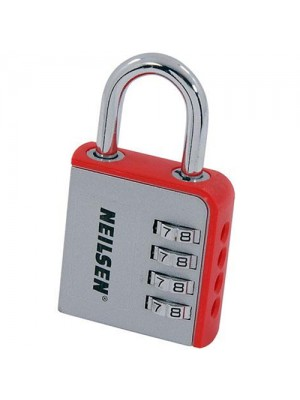 8cm Large 4 Dial Number Combination Padlock
