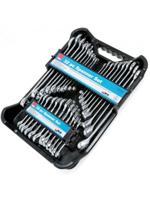32pc Spanner Set Combination AF/Metric