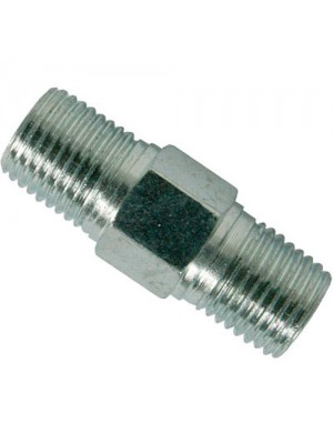 Air Line Hose Equal Union Connector - 6mm 1/4inch BSPT Male
