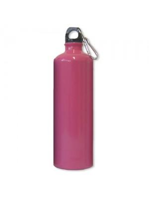 Aluminium Drinks Bottle - 1 Ltr - Pink