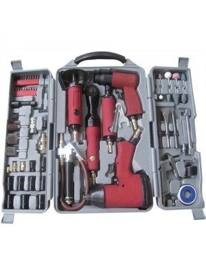 Professional 77pc Air Tool Kit - Heavy Duty