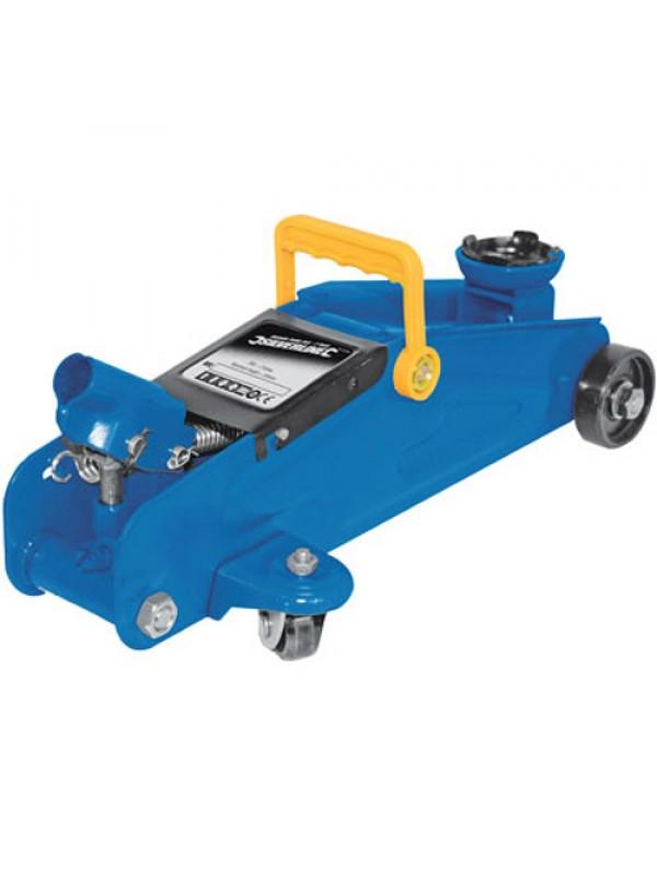 2 Ton Car Hydraulic Trolley Jack & 3 Ton Car Axle Stand Set