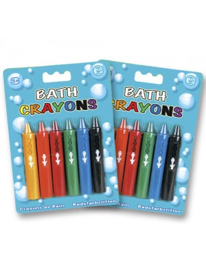 Bath Crayons (wipe clean) - 12 Pack