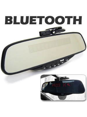 Bluetooth Rearview Mirror Handsfree Car Kit