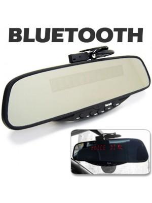 Bluetooth Rearview Mirror Handsfree Car Kit