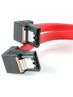 Serial ATA 150 SATA Cable 1.5Gbps 50cm Lead - Right Angle Connec