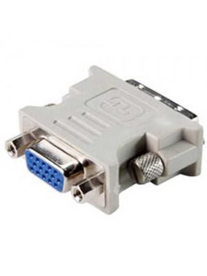 DVI-I Male to SVGA Female Adapter for PC, Monitor, TV 360