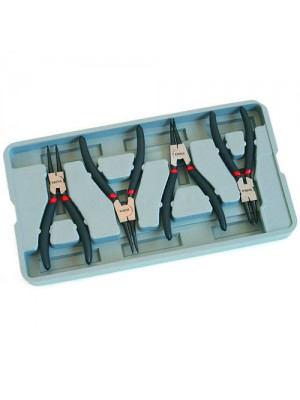 4 Piece Pro Circlip Carbon Steel Craft Plier Tool Set