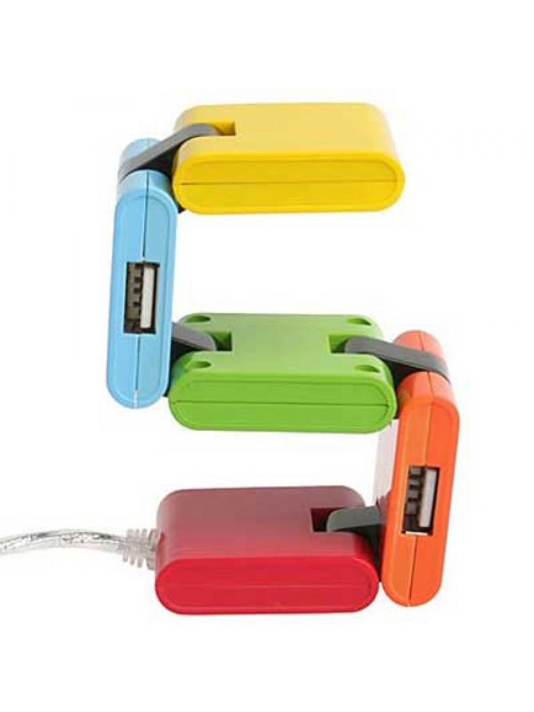 High Speed USB 2.0 Compressor 4 Port Hub - Ultra Fast