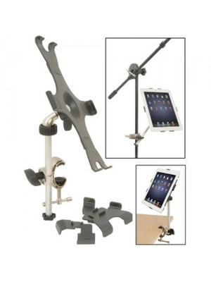 Music Sheet Mic Stand Attachment / Desk Mount For iPad
