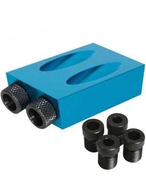 Silverline 6, 8 & 10mm Pocket Hole Jig Dowel Screw Guider