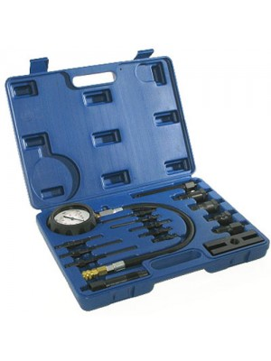 Silverline 16Pc Diesel Engine Compression Testing Kit