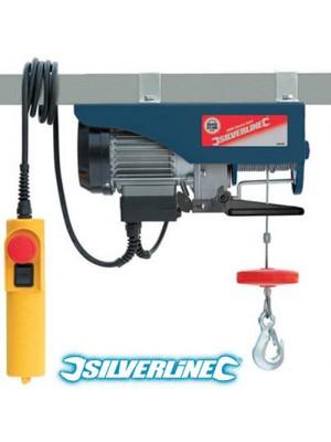 Silverline Electric Winch Hoist - Max Load of 250KG (500w)