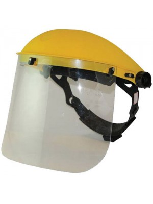Flip Up Face Shield & Protection Visor - Clear