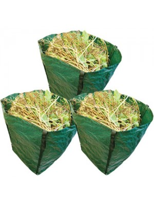 3 X 360Litre Capacity Heavy Duty Garden Waste & Rubbish Sacks