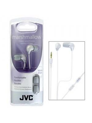 JVC - HA-FX33 - Marshmallow Earbuds - White