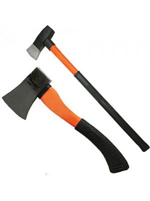 Silverline Fibreglass Hatchet and Fibreglass Log Splitting Maul