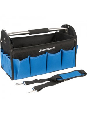 Heavy Duty Tool Bag With Hard Base - 400 x 200 x 250mm