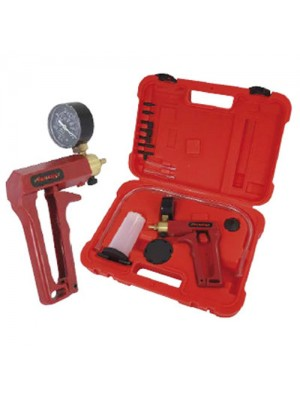 Hand Held Vacuum Pump Kit For Brake Bleeding - With Case