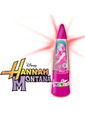 Hannah Montana Eccentric Glitter Light Up Lamp