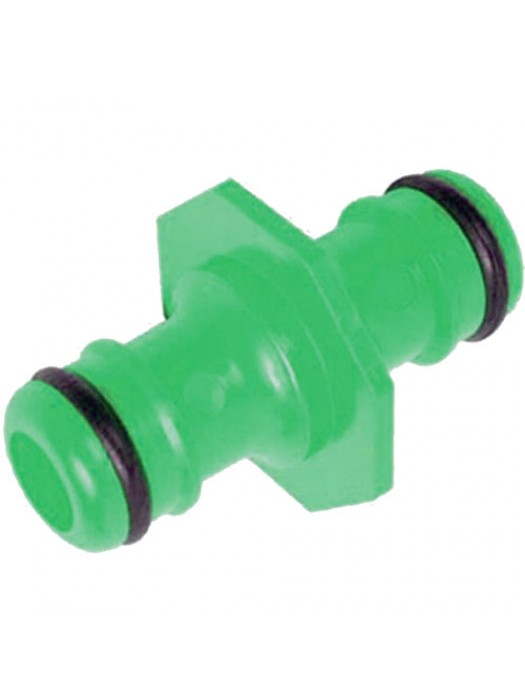 2 Way Garden Hose Connector - 1/2Inch Male to 1/2Inch Male