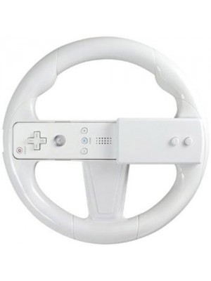 Hubb Nintendo Wii Steering Wheel - White