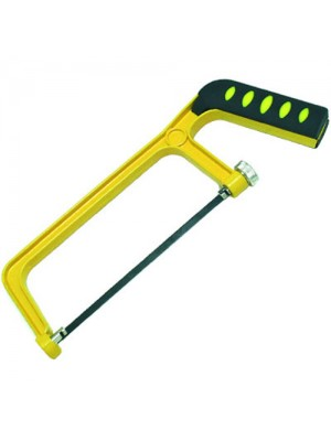 6 Inch (150mm) Junior Hand Hacksaw - For Metal, Plastic and Wood