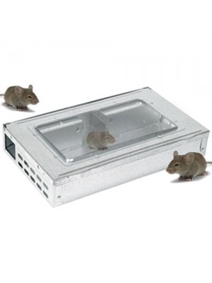 Metal Multi Mouse Trap - Live Catch upto 10 Mice
