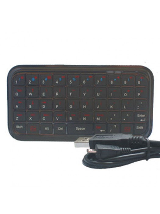 Mini Bluetooth Multi-Purpose Keyboard - Black