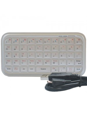 Mini Bluetooth Multi-Purpose Keyboard - Silver