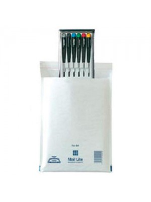 3 x 100 Mail Lite 180 x 260 White Bubble Lined Envelopes D1