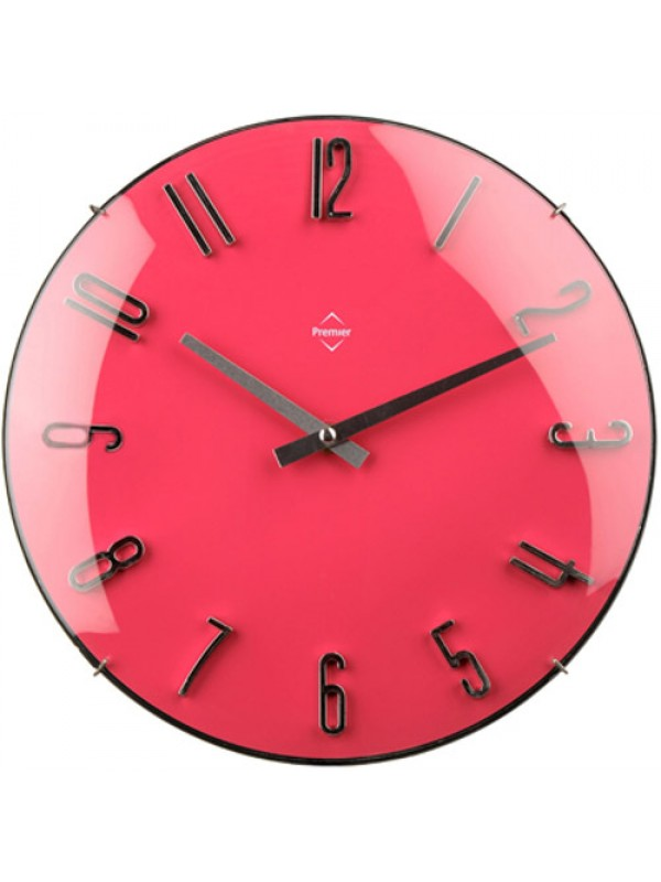 Modern Unique Kitchen Home Office Wall Clock Hot Pink