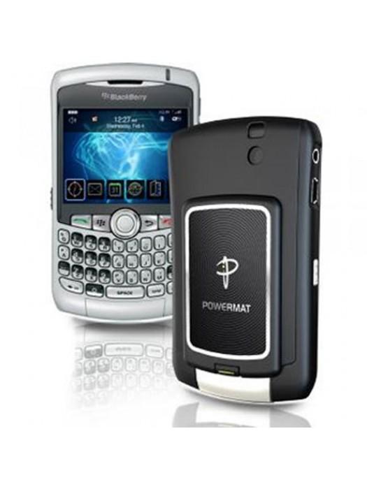 Powermat Receiver Case For Blackberry 8300 - Black