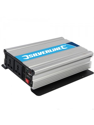 Silverline 1000W Power Inverter - 12V