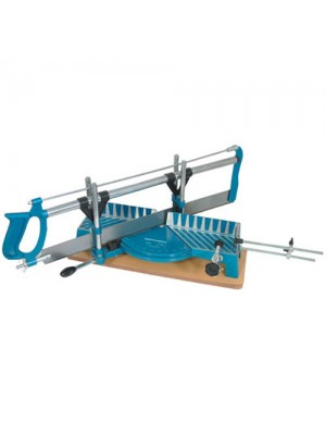 Silverline Precision Mitre Hard Tooth Saw (550mm 14tpi Saw)