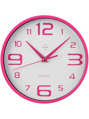Retro Unique Kitchen Home Office Wall Clock - Pink