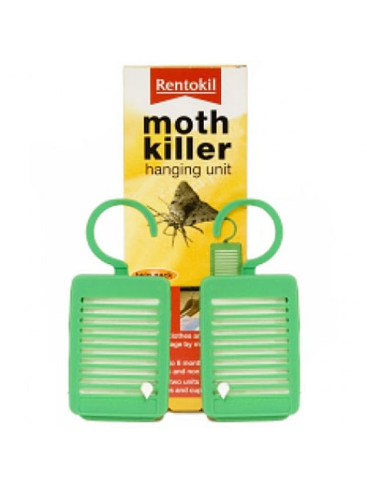 Twin Pack Of Rentokil Moth/Insect Killer Hanging Units