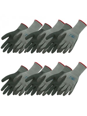 Builders Extra Grip Labour Scaffold Thermal Gloves - 6 Pack!