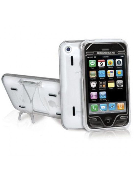 Scosche kickBACK Case for iPhone 3G S / 3G - Clear