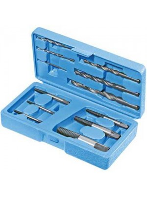 12 Pc Broken Screw Extractor Set / Stud Remover