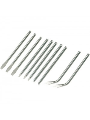 Pack Of 10 Replacement Soldering Iron Tips - 3.9mm Diameter