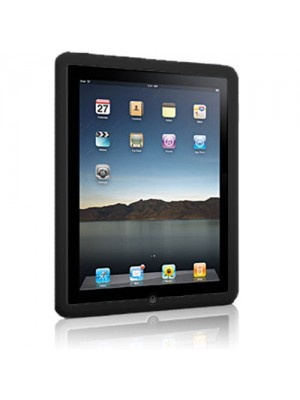 Silicone Skin Case for Apple iPad - Black