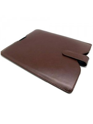 Leather Slip Case for iPad - Brown