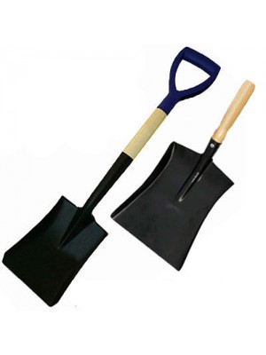 Square Nose Shovel & Dust Pan Set - Ideal For Shifting Coal/Snow